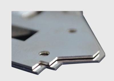 corte de metal laser fibra