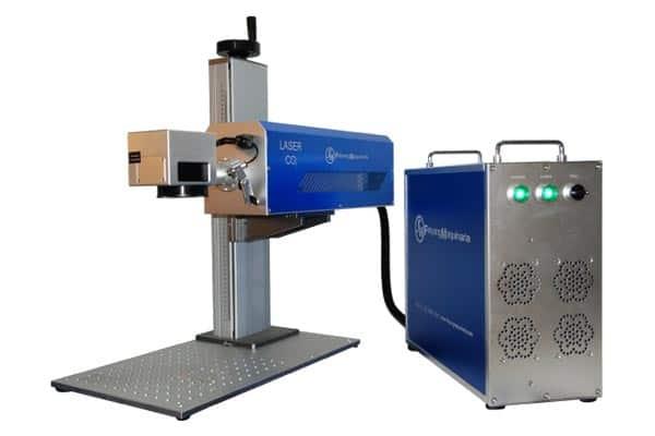 Marcadora laser para materiales orgánicos y plásticos suaves