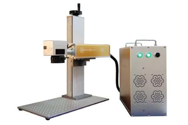 Marcadora laser para joyeria