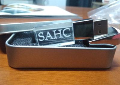 Grabado laser en USB