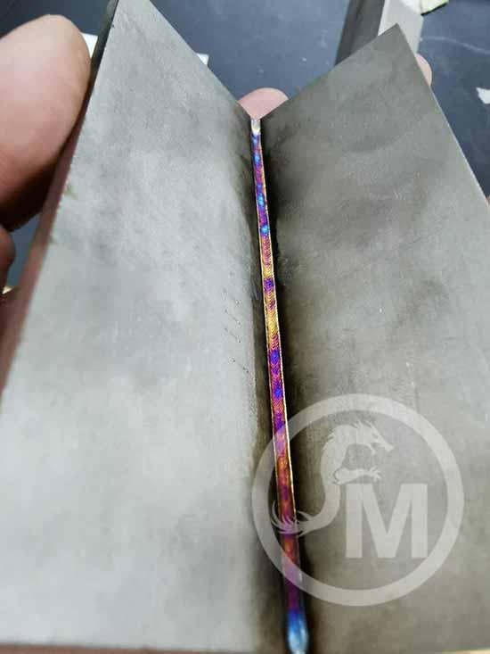 cordón de soldadura láser