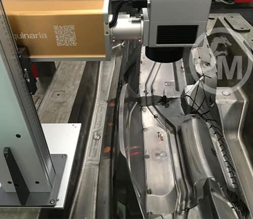 grabado laser en molde