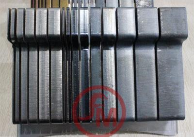 grosor de metales en corte laser