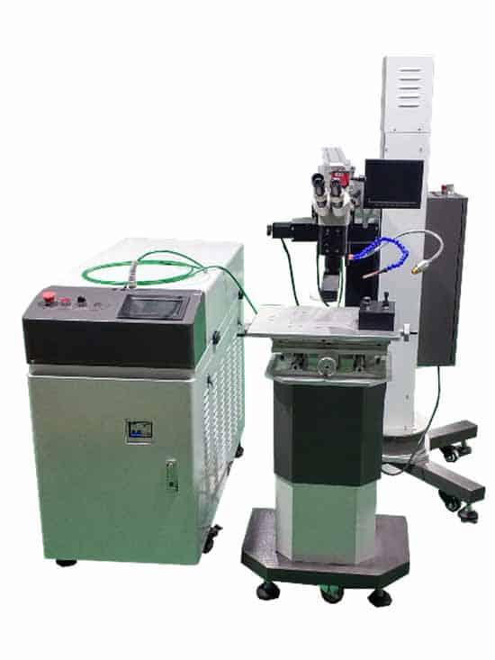 Máquinas soldadoras láser diferentes