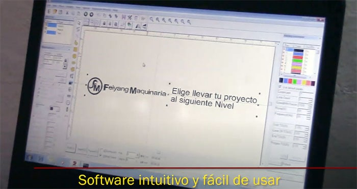 software maquinas laser