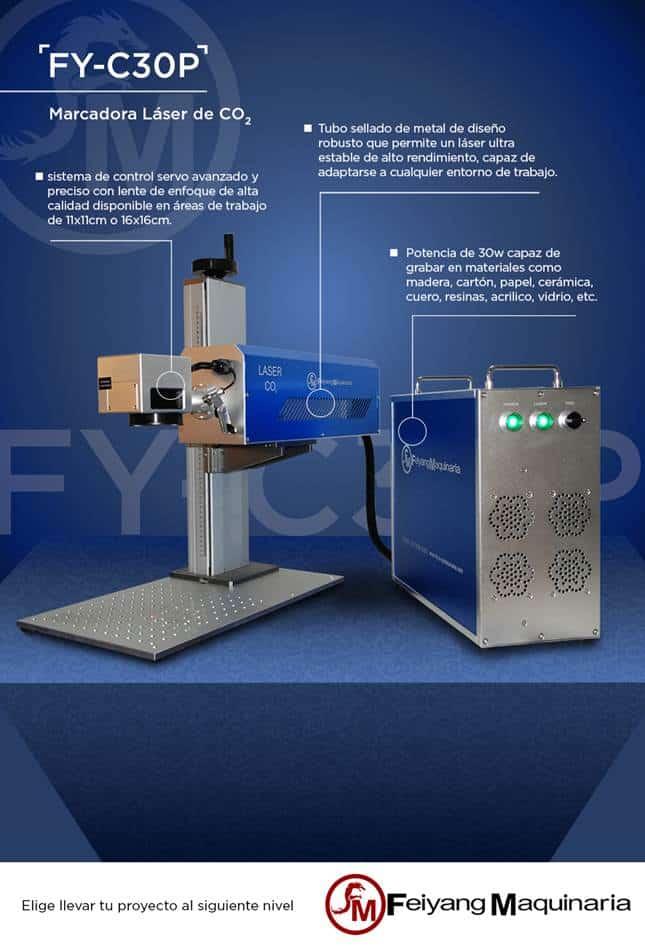 marcadoras laser multimateriales