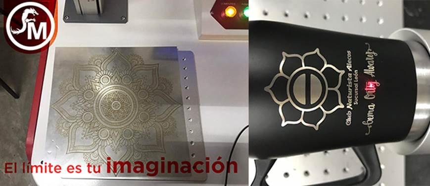 grabado laser en sólidos
