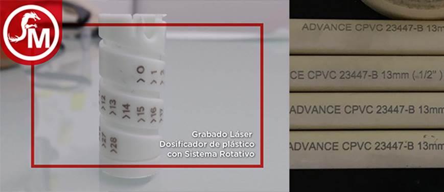 grabado laser en plasticos
