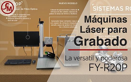 Máquinas Láser para Grabado La Versátil y poderosa FY-R20P