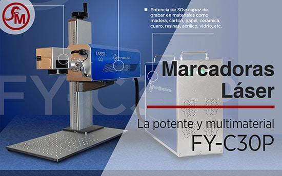 Marcadoras Láser La potente y multimateriales FY-C30P