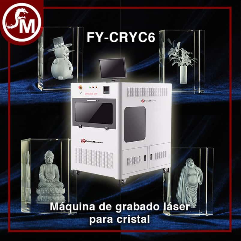 grabado laser  en cristal