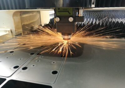 Corte láser en industria metalmecánica