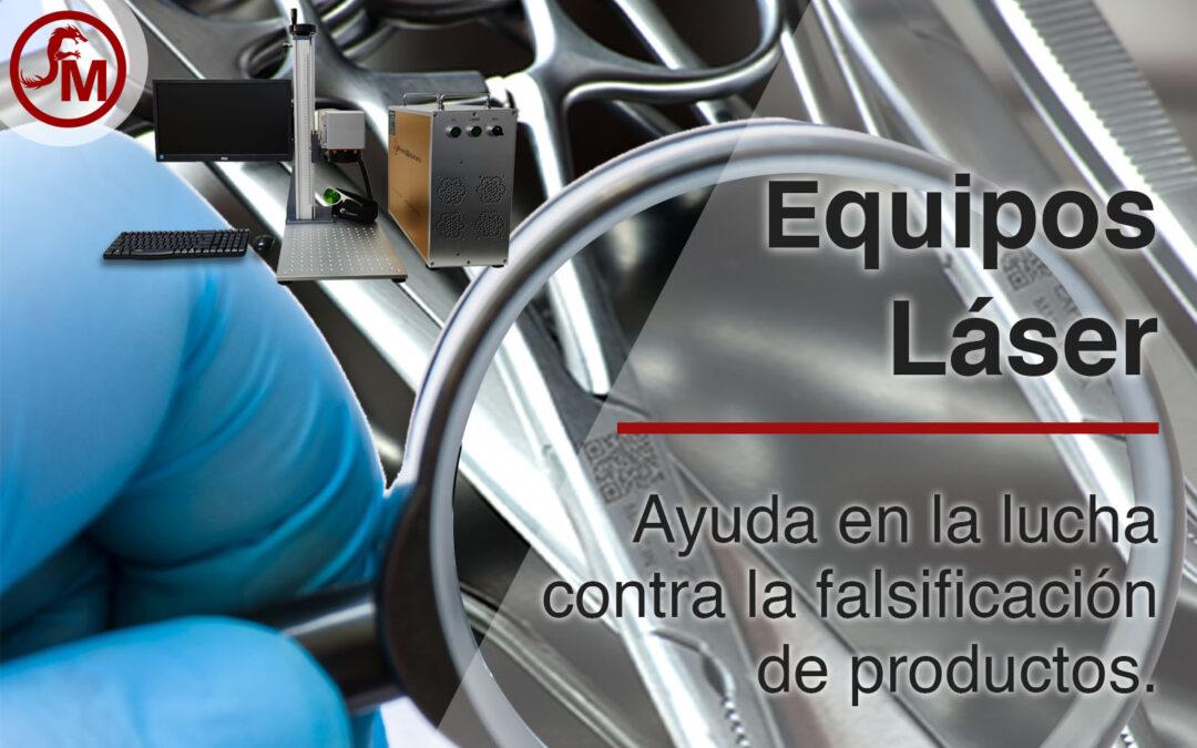 Equipos láser contra la falsificación en productos