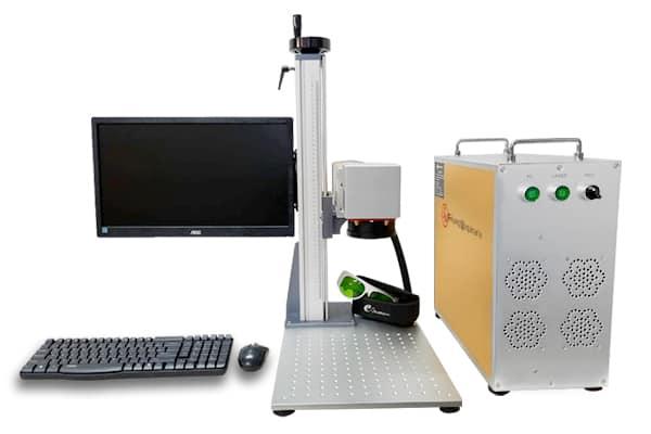 láser de Fibra óptica, ideal para metales, plásticos rígidos, piel y curpiel