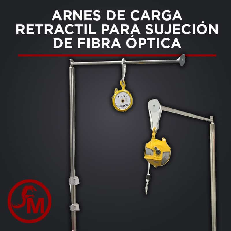ARNES DE CARGA PARA FIBRA ÓPTICA