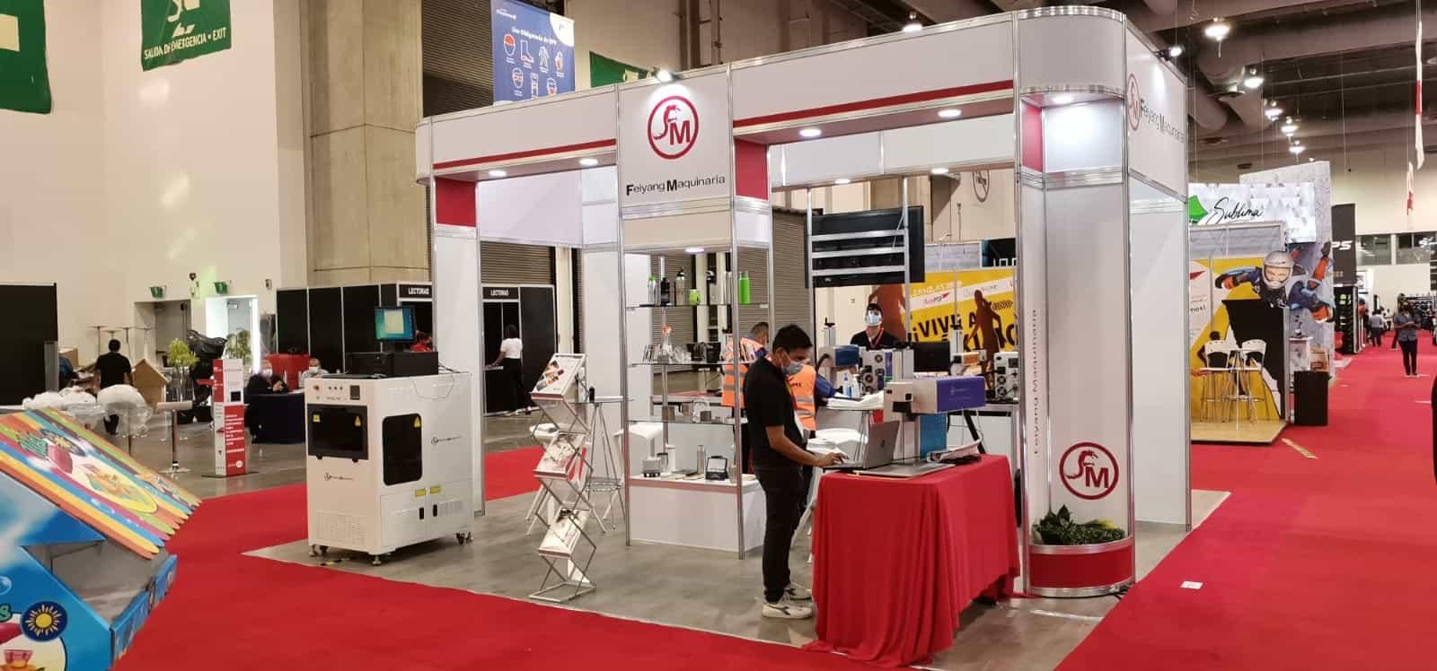 Feiyang Maquinaria en Expo Publicitas